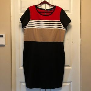 Eloquii with The Limited Color Block Dress